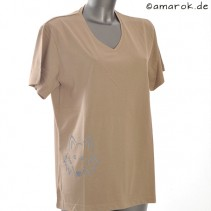 T-Shirt women cappuccino 2XL