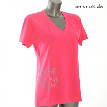 T-Shirt women pink XL
