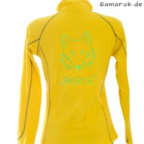 amarok Fleece (Waffeloptik) L gelb women